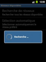Samsung Galaxy Y - Réseau - Sélection manuelle du réseau - Étape 8