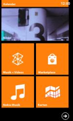 Nokia Lumia 800 / Lumia 900 - Startanleitung - Personalisieren der Startseite - Schritt 5