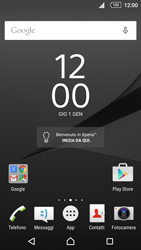 Sony Xperia Z5 - Manuale - Scaricare il manuale - Fase 1