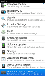 BlackBerry 9860 Torch - Settings - Configuration message received - Step 5