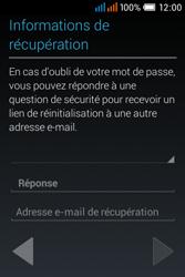 Alcatel OT-4015X Pop C1 - Premiers pas - Créer un compte - Étape 22