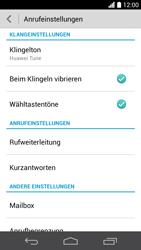 Huawei Ascend P6 LTE - Anrufe - Rufumleitungen setzen und löschen - Schritt 5