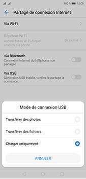 Huawei P20 pro - Internet et connexion - Utiliser le mode modem par USB - Étape 6