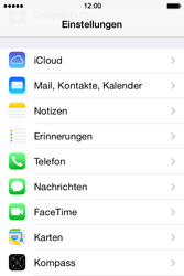 Apple iPhone 4 S - E-Mail - Konto einrichten (outlook) - 3 / 11
