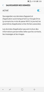 Samsung Galaxy A7 (2018) - Données - créer une sauvegarde avec votre compte - Étape 8