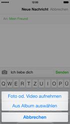 Apple iPhone 5c - MMS - Erstellen und senden - Schritt 11