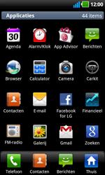 LG P970 Optimus Black - Internet - internetten - Stap 2
