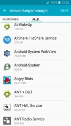 Samsung Galaxy S6 - Apps - Eine App deinstallieren - Schritt 6