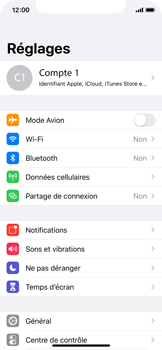 Apple iPhone X - iOS 13 - Appareil - Activéz