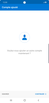 Samsung Galaxy Note 10 Plus 5G - E-mail - 032c. Email wizard - Outlook - Étape 10