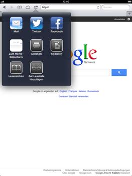 Apple iPad Retina - Internet und Datenroaming - Verwenden des Internets - Schritt 6