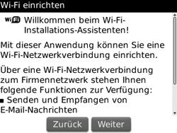 BlackBerry Curve - WLAN - Manuelle Konfiguration - 5 / 13