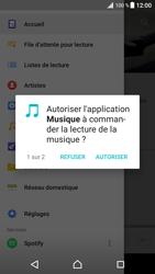 Sony Xperia XZ Premium - Photos, vidéos, musique - Ecouter de la musique - Étape 4