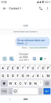 Crosscall Core M4 - Contact, Appels, SMS/MMS - Envoyer un SMS - Étape 12