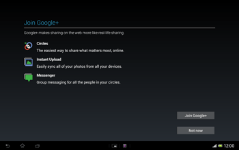 Sony Xperia Tablet Z LTE - Applications - Setting up the application store - Step 18