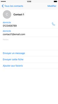 Apple iPhone 6s Plus - Contact, Appels, SMS/MMS - Ajouter un contact - Étape 13