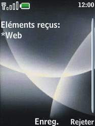 Nokia 3120 classic - Internet - Configuration automatique - Étape 4