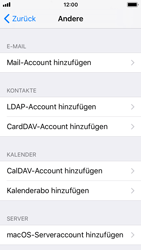Apple iPhone SE - E-Mail - Konto einrichten - 6 / 30