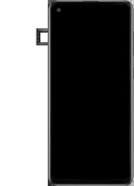 Samsung Galaxy A21s - Premiers pas - Insérer la carte SIM - Étape 6