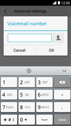 Huawei Ascend Y530 - Voicemail - Manual configuration - Step 7
