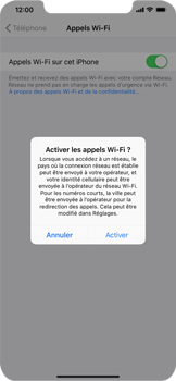 Apple iPhone XS Max - WiFi - Activez WiFi Calling - Étape 7