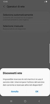 Samsung Galaxy Note9 - Android Pie - Rete - Selezione manuale della rete - Fase 8
