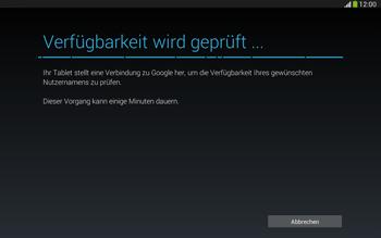 Samsung Galaxy Tab 3 10-1 LTE - Apps - Konto anlegen und einrichten - 9 / 25