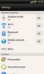 HTC Desire X - Internet and data roaming - Disabling data roaming - Step 5