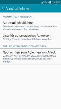 Samsung N910F Galaxy Note 4 - Anrufe - Anrufe blockieren - Schritt 7