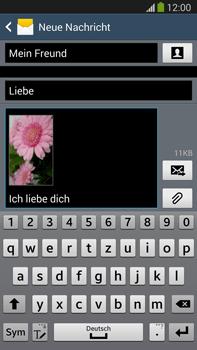 Samsung Galaxy Note 3 LTE - MMS - Erstellen und senden - 22 / 24