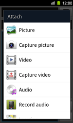 Samsung I8160 Galaxy Ace II - Mms - Sending a picture message - Step 11