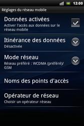Sony Xperia Mini Pro - MMS - Configuration manuelle - Étape 6