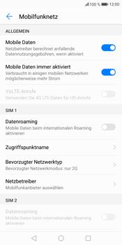 Huawei Mate 10 Lite - Netzwerk - Netzwerkeinstellungen ändern - Schritt 7