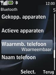 Nokia 2730 classic - bluetooth - aanzetten - stap 7