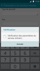 Samsung Galaxy S 5 - E-mail - configuration manuelle - Étape 11
