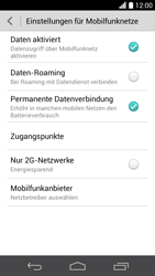 Huawei Ascend P6 - Netzwerk - Manuelle Netzwerkwahl - Schritt 5
