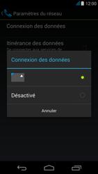 Acer Liquid Z500 - Internet - activer ou désactiver - Étape 7