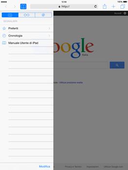 Apple iPad mini - iOS 8 - Internet e roaming dati - Uso di Internet - Fase 9