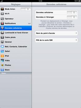 Apple iPad - Internet - activer ou désactiver - Étape 3