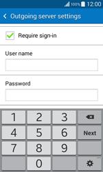 Samsung G355 Galaxy Core 2 - E-mail - Manual configuration - Step 13