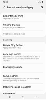 Samsung Galaxy A40 - Toestel - Stel Zoek mijn mobiel in - Stap 5