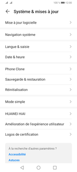 Huawei Y6P - Aller plus loin - Mettre à jour le logiciel interne de votre mobile - Étape 5