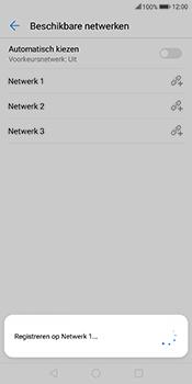Huawei Mate 10 Lite - Netwerk selecteren - Handmatig een netwerk selecteren - Stap 11