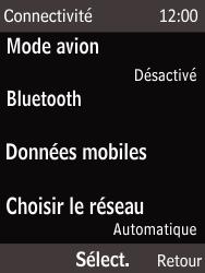 Nokia 225 - Réseau - Sélection manuelle du réseau - Étape 5
