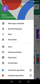 Huawei P20 - Android Pie - Apps - Nach App-Updates suchen - Schritt 5