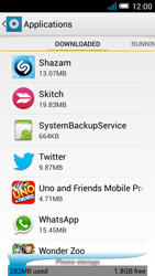 Alcatel One Touch Idol Mini - Applications - How to uninstall an app - Step 5