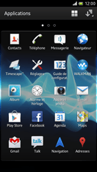 Sony LT28h Xperia ion - Messagerie vocale - Configuration manuelle - Étape 3