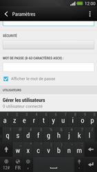 HTC One - Internet et connexion - Partager votre connexion en Wi-Fi - Étape 9