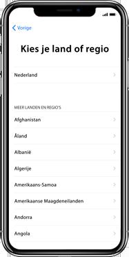 Apple iphone-xs-max-met-ios-13-model-a1921 - Instellingen aanpassen - Activeer het toestel en herstel jouw iCloud-data - Stap 7