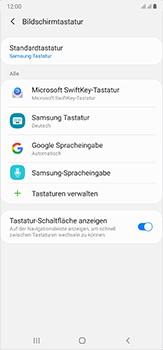 Samsung Galaxy Note 20 Ultra 5G - Startanleitung - So fügen Sie eine Tastatursprache hinzu - Schritt 7